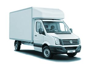 VW Crafter Luton Van Hire