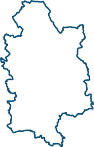 Map of Derbyshire Area